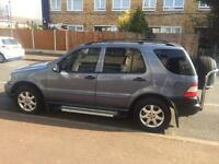Mercedes Bens ML270 Automatic Diesel 7 seater 2004