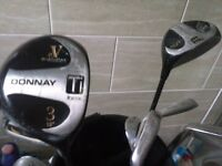 9 irons golf set DONNAY