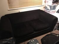 Black DFS Sofa Bed For Sale