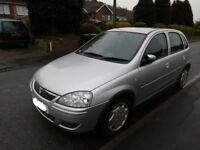 VERY CLEAN/TIDY IDEAL FIRST/NEW DRIVER/SMALL FIMILY CAR VAUXHALL CORSA DESIGN 1.2 PETROL MOT'D £495