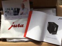 JURA BRAND NEW A1 COFFEE MAKER PIANO WHITE