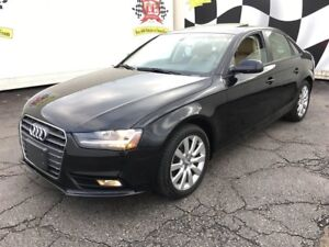 2013 Audi A4 2.0T, Auto, Leather, Sunroof, Only 86,000km
