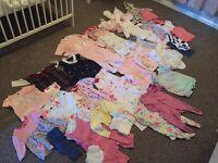 3-6 month girl clothes bundle