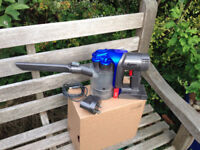 Dyson handheld cordless vacuum cleaner cleaned and refurbished.