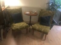 Vintage cocktail chairs
