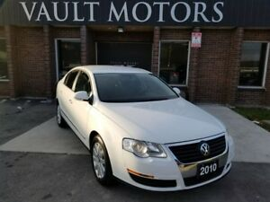 2010 Volkswagen Passat 2.0T Leather WARRANTY INCLUDED