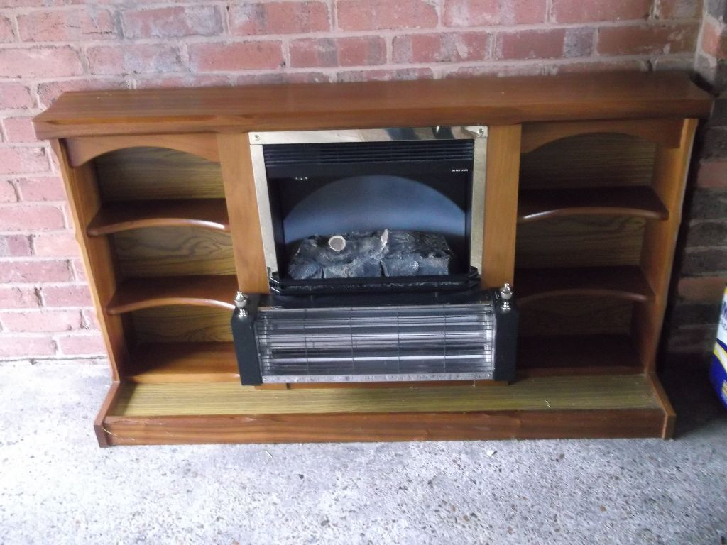 coal effect 1970s fire and surround in exeter devon gumtree