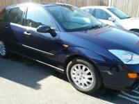 2002 Ford Focus 1 owner fsh 60,000