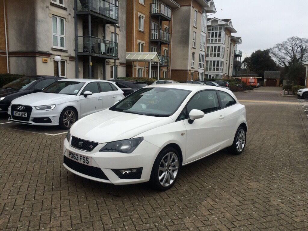 2014 seat ibiza 1 2 tsi fr white sport immaculate in. Black Bedroom Furniture Sets. Home Design Ideas
