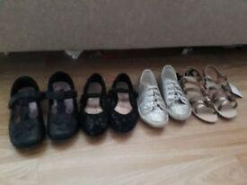 Girls shoes bundle infant size 9