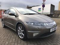 2007 (07) Honda Civic 1.8 I-VTEC EX Auto / 37K FSH / 1 Private keeper from New / 12 months MOT /