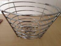 Chrome Fruit Basket, Trivet, Filter Jug, Spoon Rest, Soap Dish, Tumbler