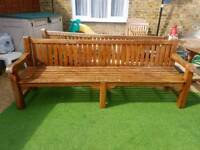 Solid Wooden Bench 240cm
