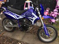 Superbyke RMR 125 Motorbike blue