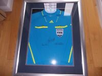 WORLD CUP 2010 SHIRT SIGNED AUTHENTICATED!