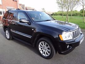 Jeep Grand Cherokee 3.0 CRD V6 Overland Station Wagon 4x4 5dr TOP SPEC OVERLAND DIESEL AUTO