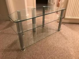 Glass TV stand - Free!
