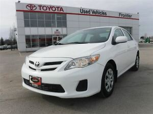 2013 Toyota Corolla CE (A4) TOYOTA CERTFIED PRE OWNED