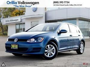 2015 Volkswagen Golf ONE OWNER/ HEATED SEATS