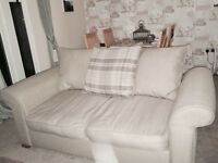 Corner sofa and 2 seater