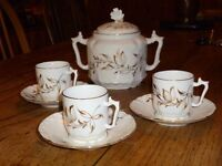 French coffee set