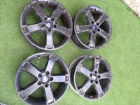 Set of 4x Ford 17Inch Alloy Wheels 5x108 (Focus Mondeo)in West London Area