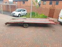 17ft car transporter trailer