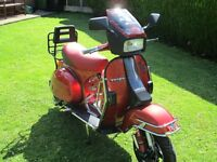 FOR SALE VESPA T5 CLASSIC JB TUNING 190