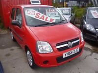 Vauxhall Agila expression twinport,MPV,Spacious, easy to park and economical,YH54XJC