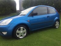 2004 FORD FIESTA 1.4 ZETEC***EXCELLENT FIRST CAR***DRIVES AS NEW***SERVICE HISTORY***