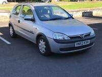 2002 VAUXHALL CORSA 1.2 * PETROL *£659 * 3 DOOR* LONG MOT *CHEAP INSURE * IDEAL 1ST CAR * P/X * DEL