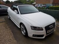Audi a5 convertible 3.2 new mot