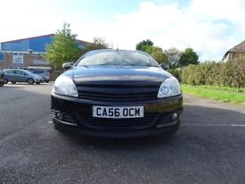 Vauxhall Astra 1.9 CDTi Design Twin Top 2dr£1995 2007 (56 reg), Convertible 88,000 miles