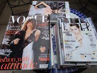 Vogue/Elle magazines for sale