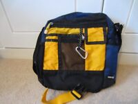 Timberland crossbody bag will take A4 folder or tablet
