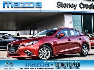 2014 Mazda MAZDA3 GS MANUAL,SUN+FOGS,NEW TIRES+BRKS,1OWNER,ACC F