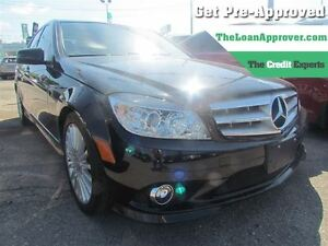 2010 Mercedes-Benz C-Class C250 4MATIC * LEATHER * POWER ROOF