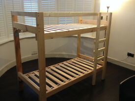 Children's Bunk Bed Custom Built Strong & Small