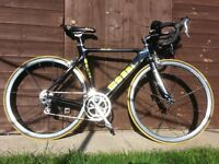 Massi carbon road bike with full Dura Ace groupset- £685