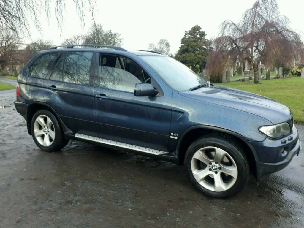 2004 face lift bmw x5 sport 4x4 petrol automatic fully loaded sat nav 10 months mot in. Black Bedroom Furniture Sets. Home Design Ideas