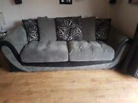 3 seater and 2 seater couch for sale.