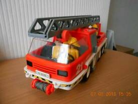Playmobil Fire Ladder truck