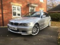 BMW 330ci MSport Coupe. FSH, immaculate condition, every available extra.