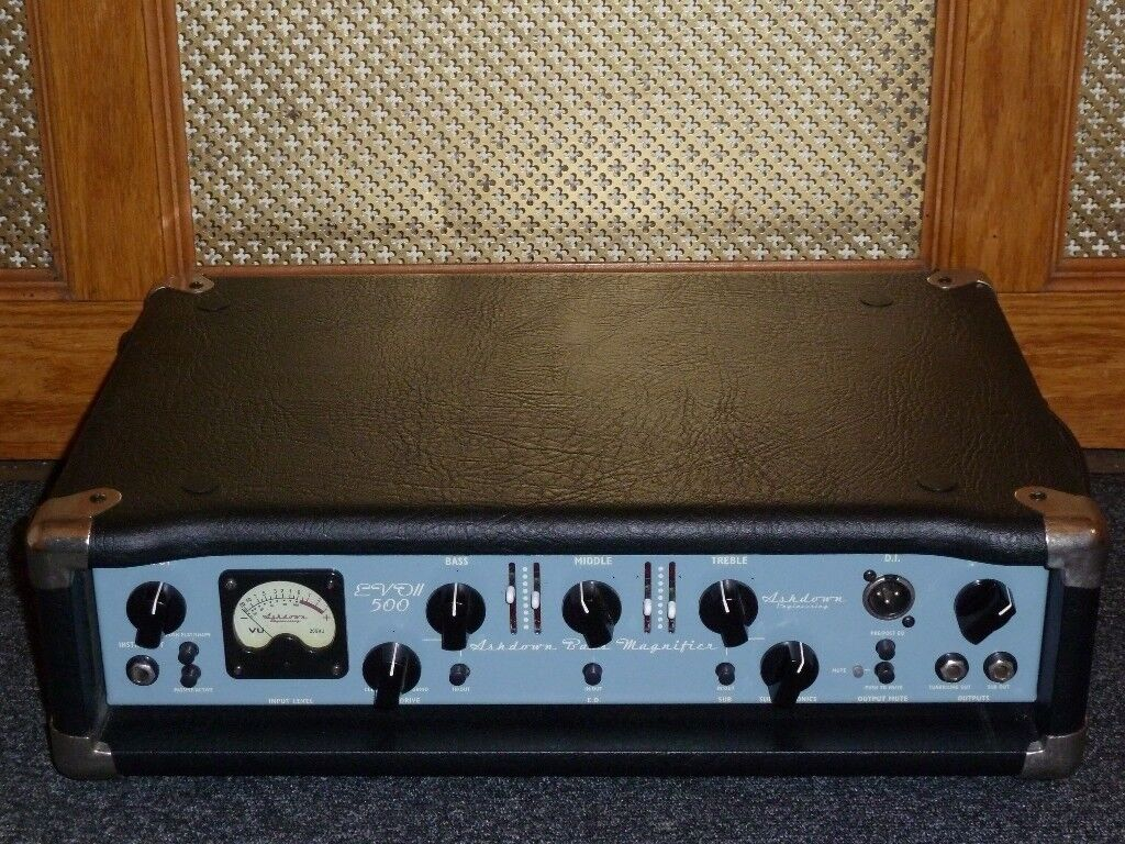 ashdown evo ii 500 bass amplifier head made in england in isleworth london gumtree. Black Bedroom Furniture Sets. Home Design Ideas