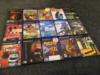 Satin silver Sony PlayStation ps2 boxed with 16 games