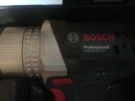 New Bosch 18v drill and impact driver