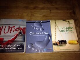 Law student law books