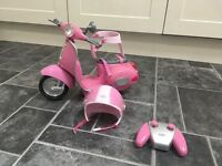 Baby Born Scooter with remote control and helmet