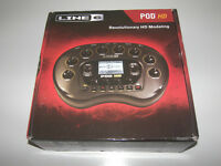 Line 6 POD HD - Desktop Multi-Effects Processor & Amp Emulator for Guitar , Bass and Vocal / As New