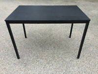 Black Kitchen Dining Table